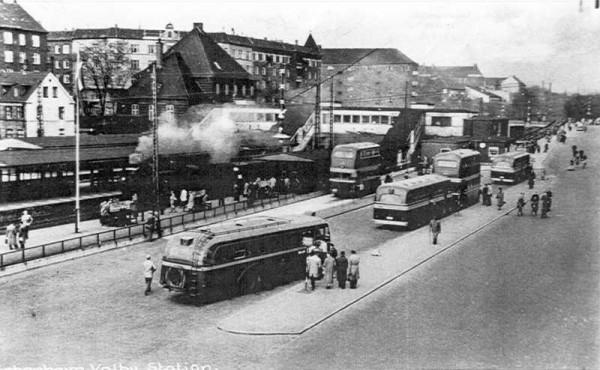 Busholdepladsen på Lyshøjgårdsvej ved Valby Station
