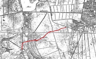 Kort fra 1825