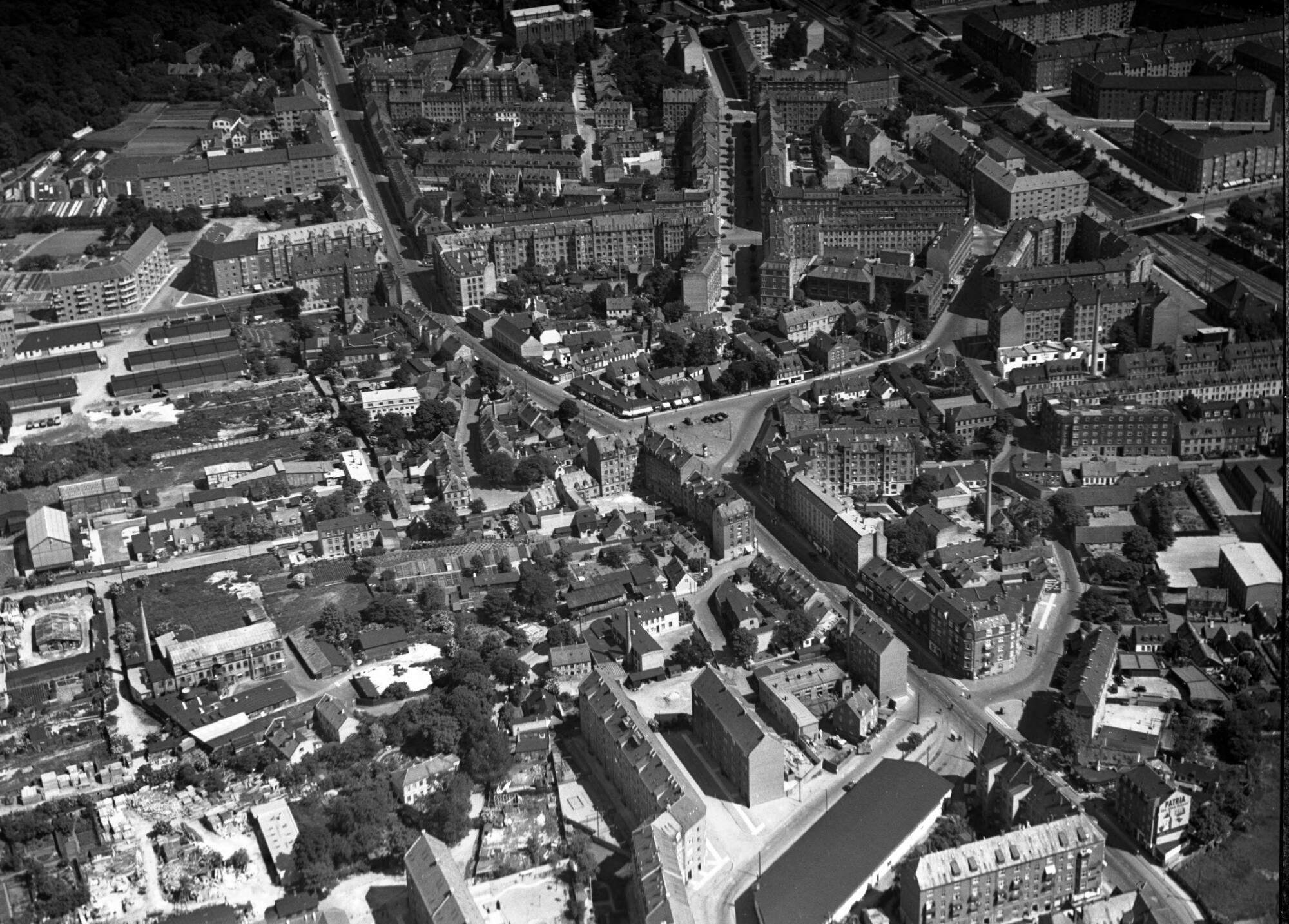 Luftfoto 1936 KglBib RemiseForrest AE 01891
